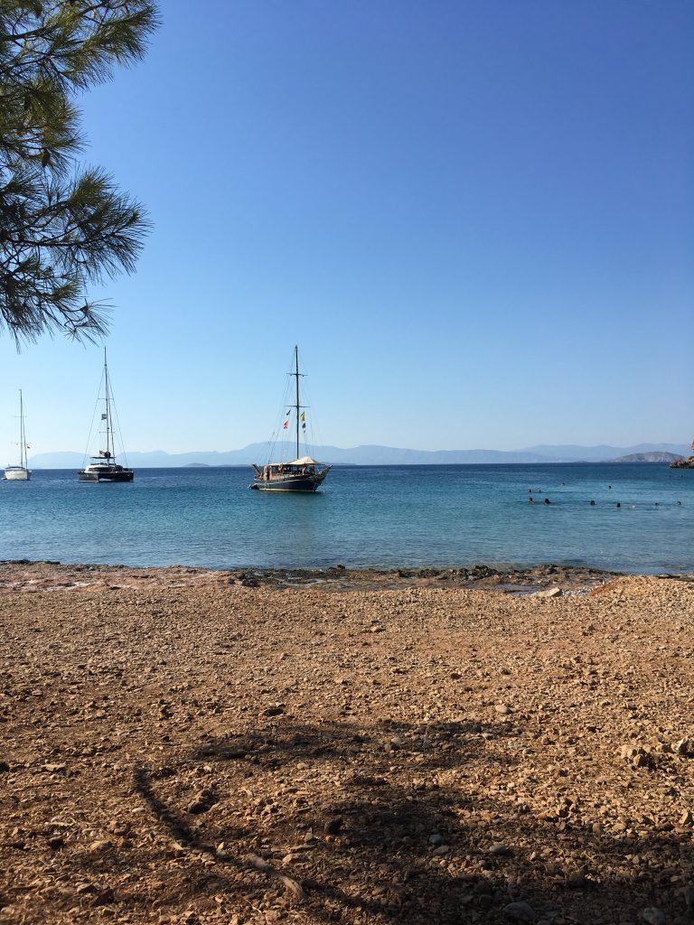 sailboat agistri